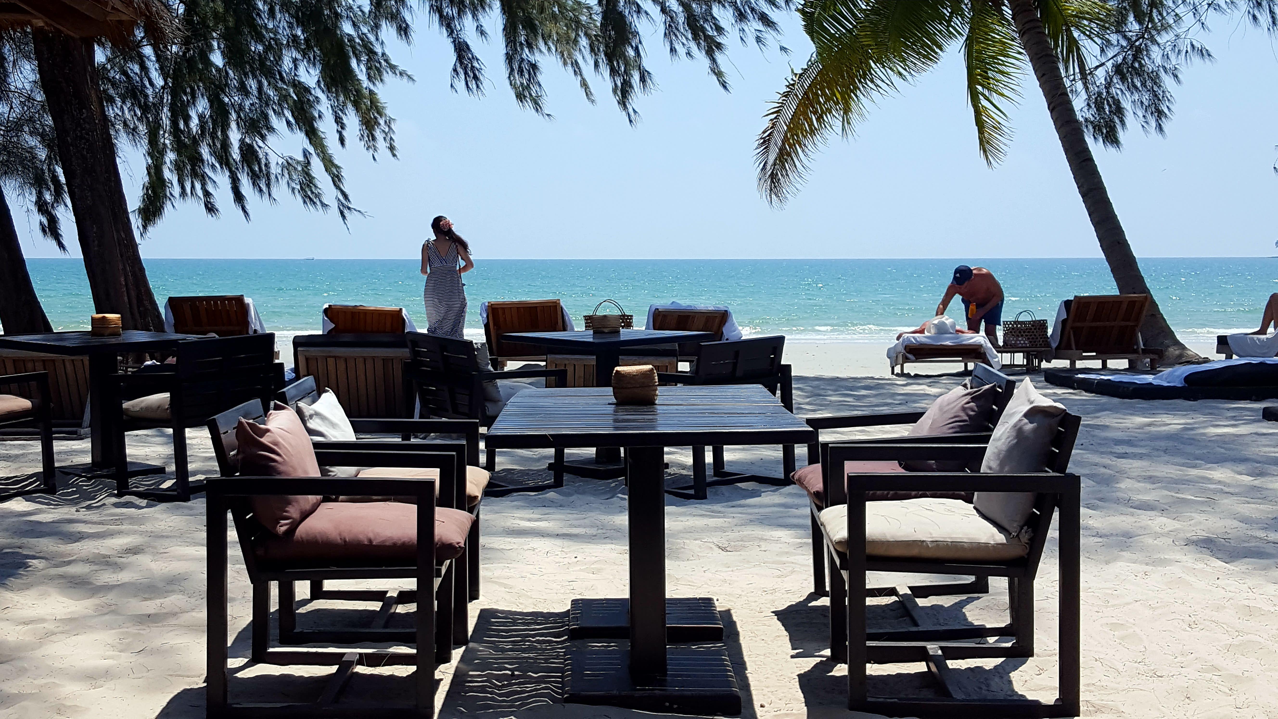 Cambogia spiaggia di Sihanoukville