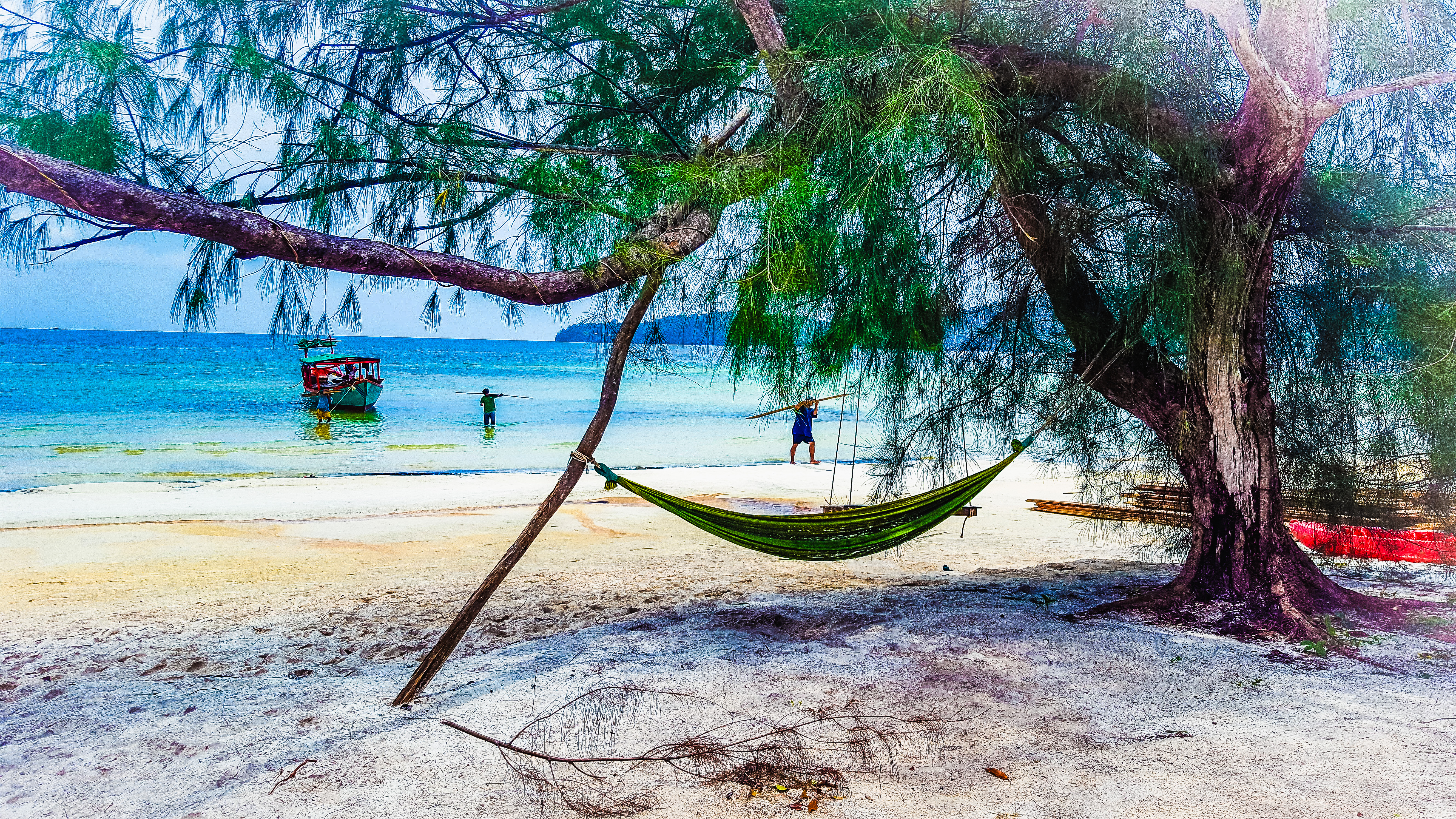 Cambogia isola di Koh Rong