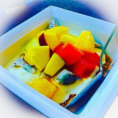 Vietnam piatto di frutta