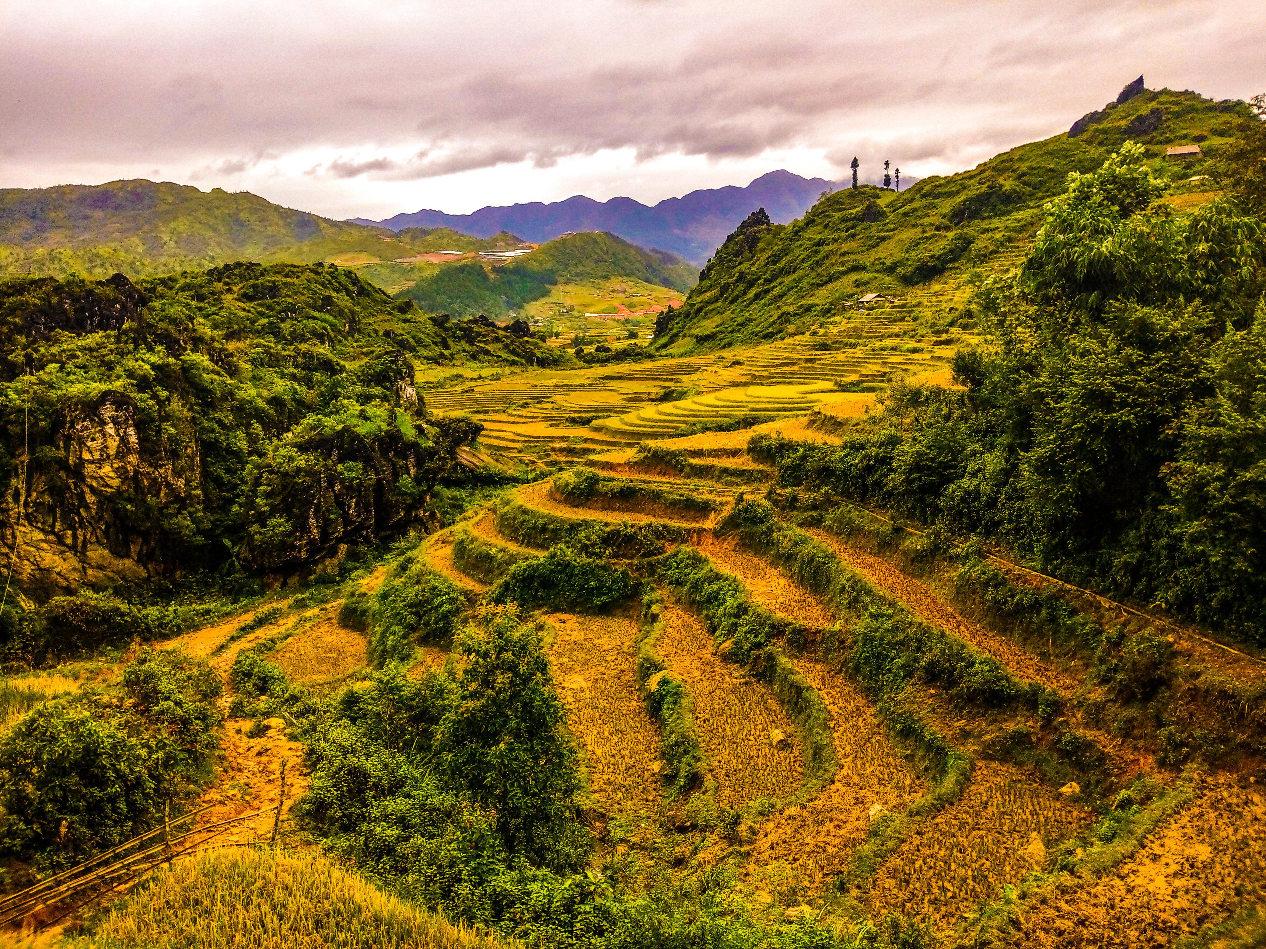 Nord del Vietnam veduta di Sapa