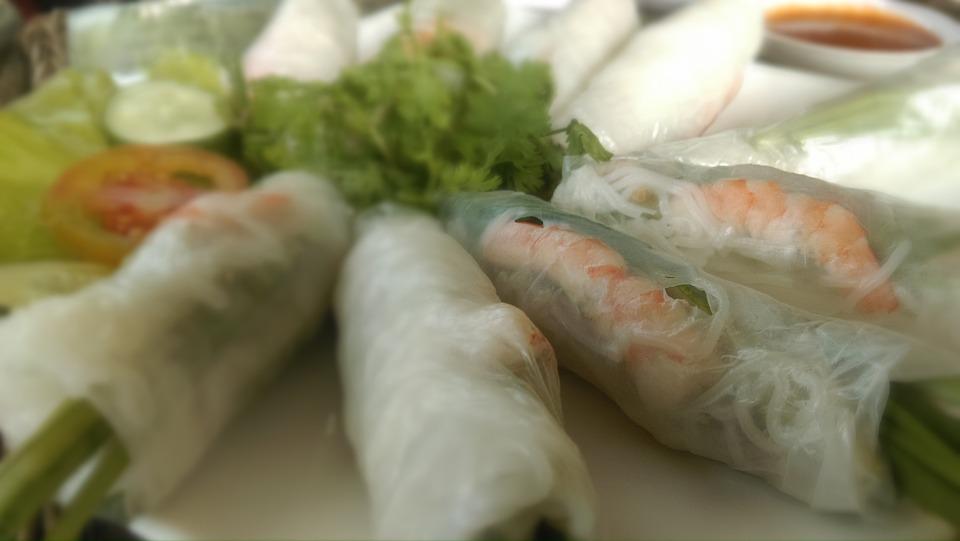 Vietnam piatto Goi Cuon