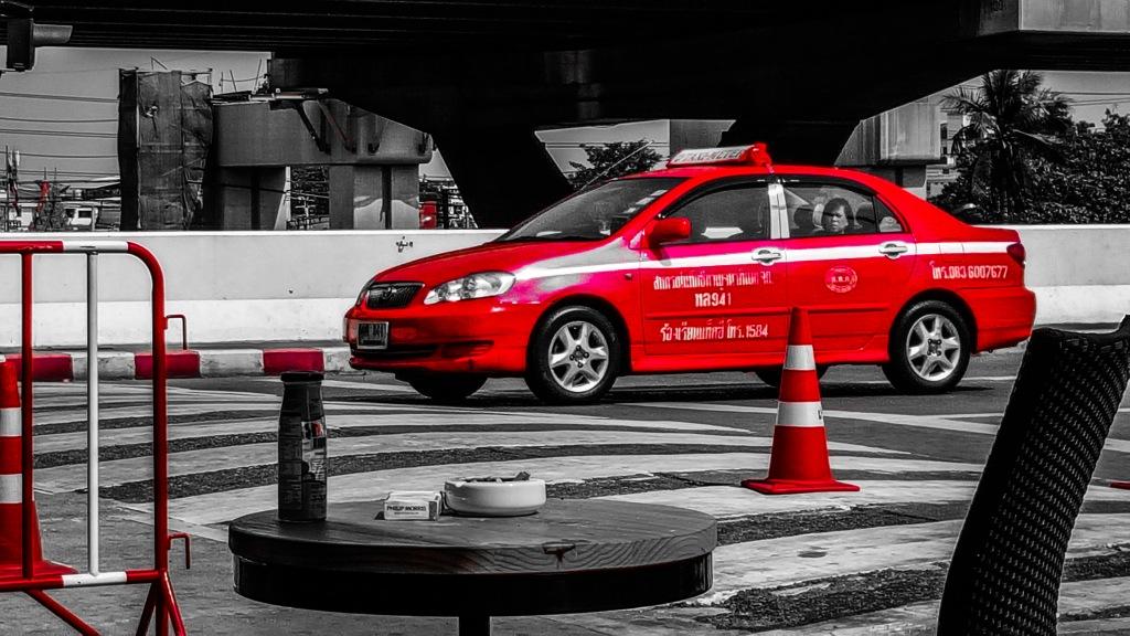 Taxi a Bangkok