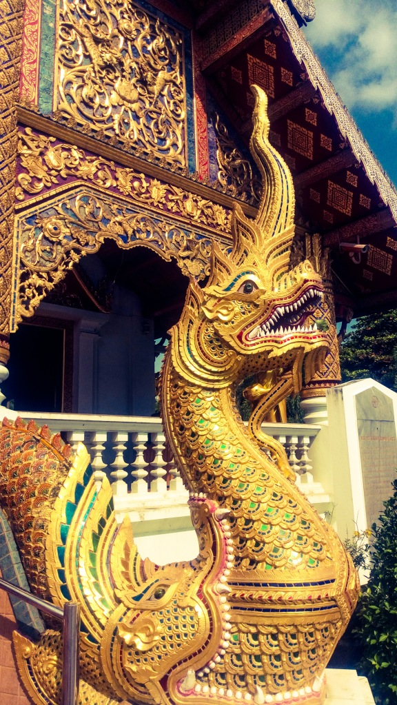 Chiang Mai statua tempio buddista