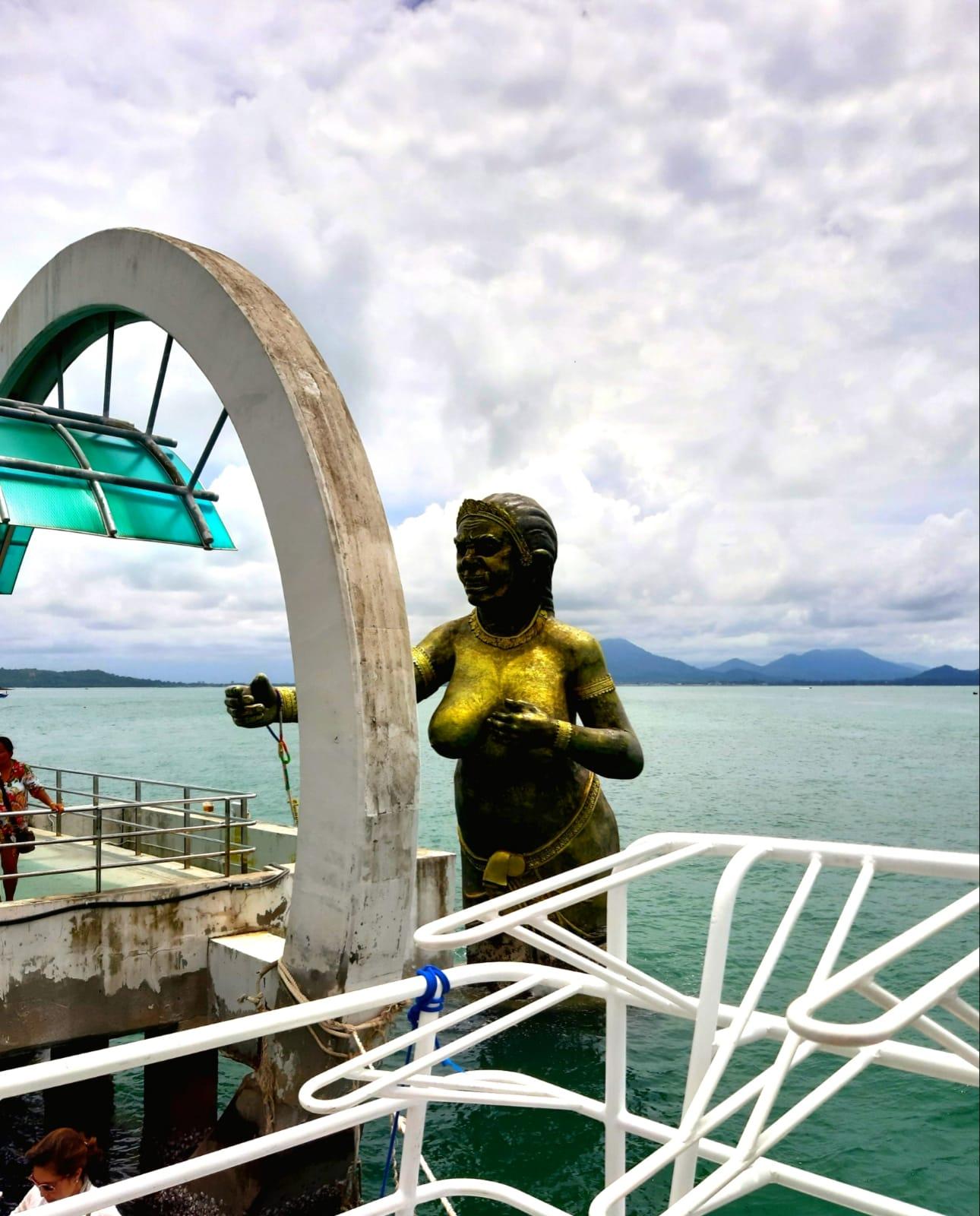 Thailandia porto di Koh Samet