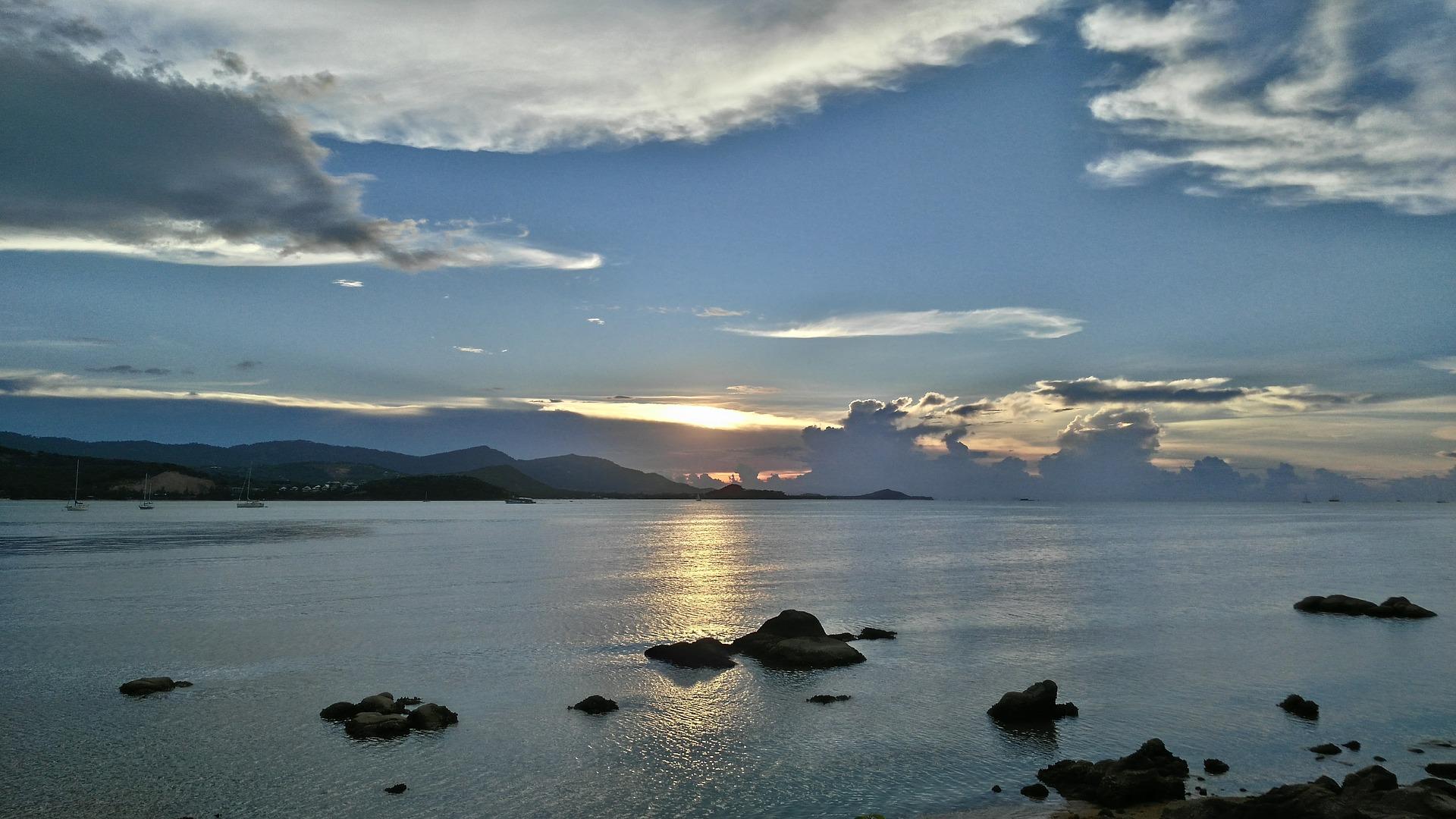 Koh Samui Thailandia tramonto