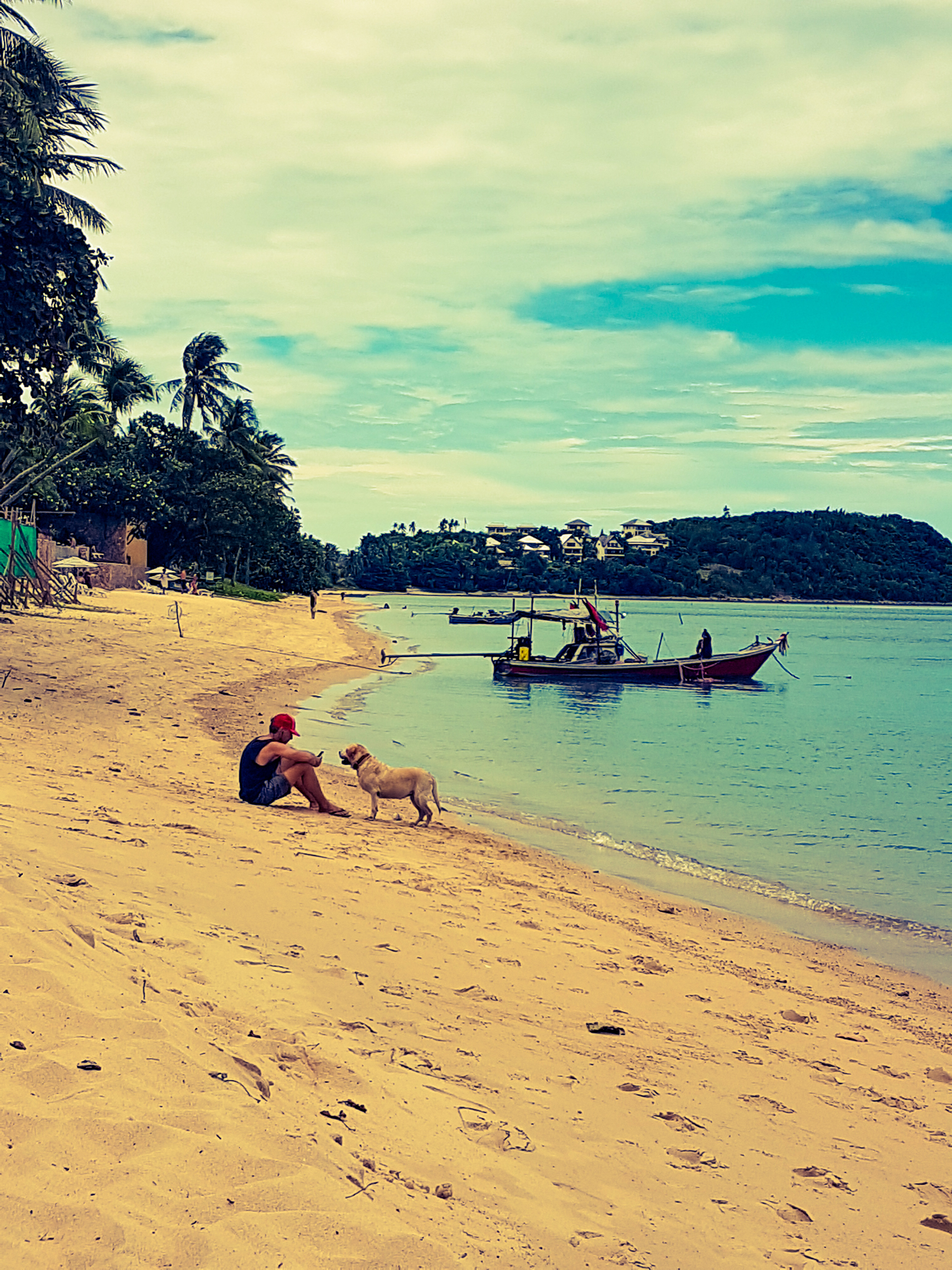 Thailandia Koh Samui spiaggia di Bophut Beach