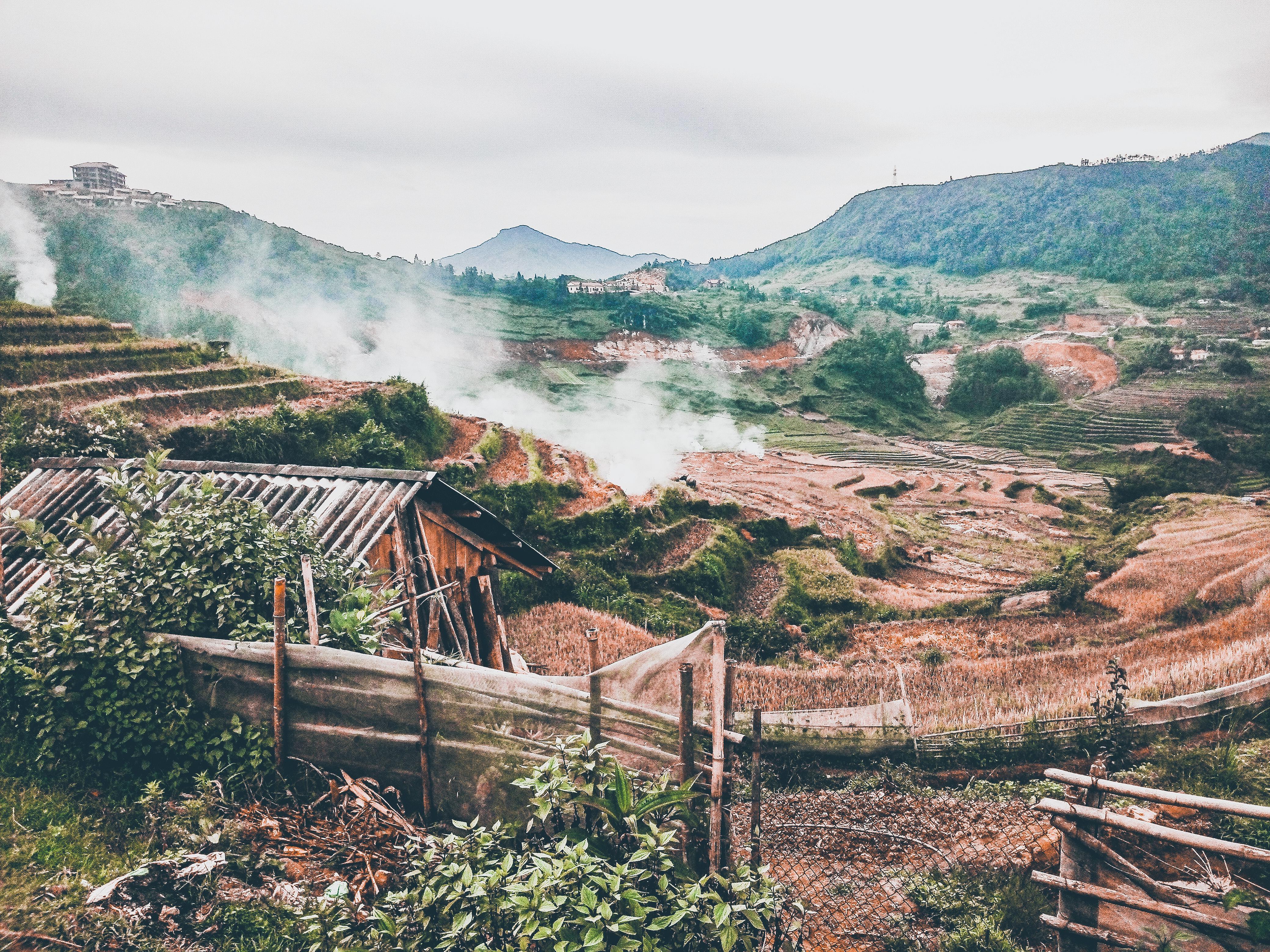 Villaggio popolazione etnica Sapa