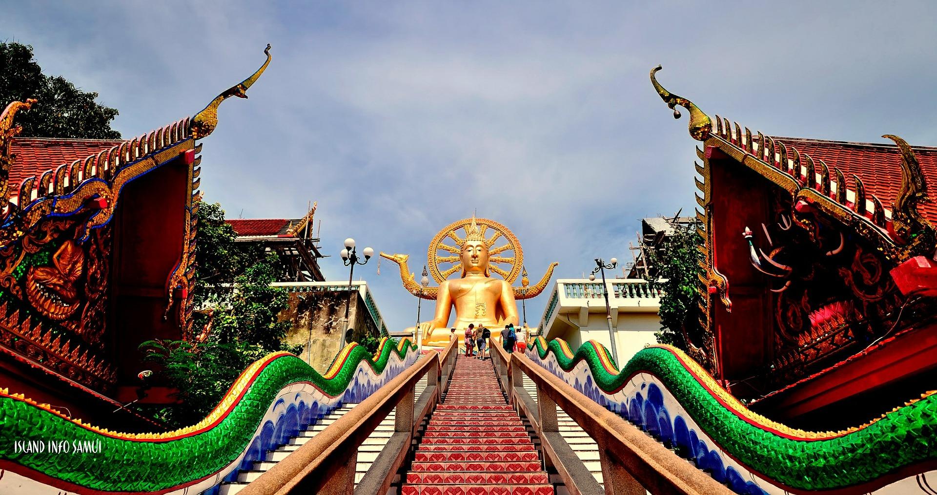 Koh Samui - Bophut Beach - Big Buddha - Thailandia