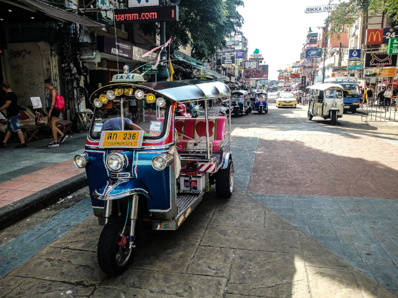 Tuck-tuck-Bangkok-Thailandia