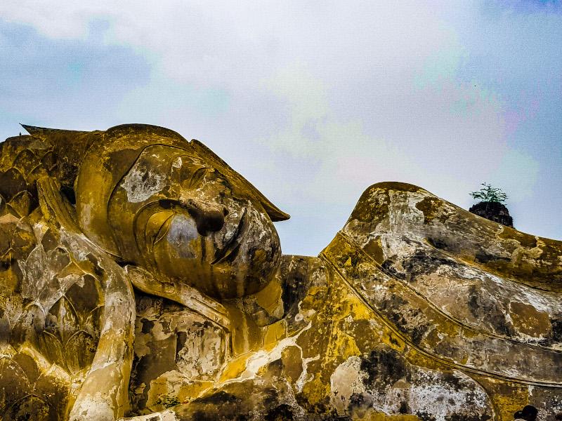 Ayutthaya Buddha sdraiato