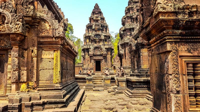 Tempio di Banteay Srei - Siem Reap