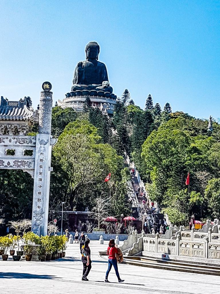 piazza Ngong Ping