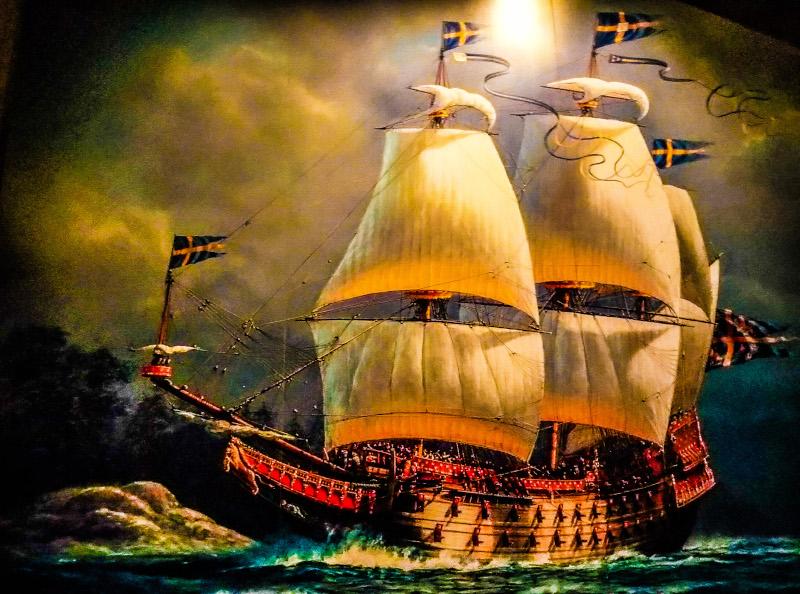 Dipinto vascello Vasa