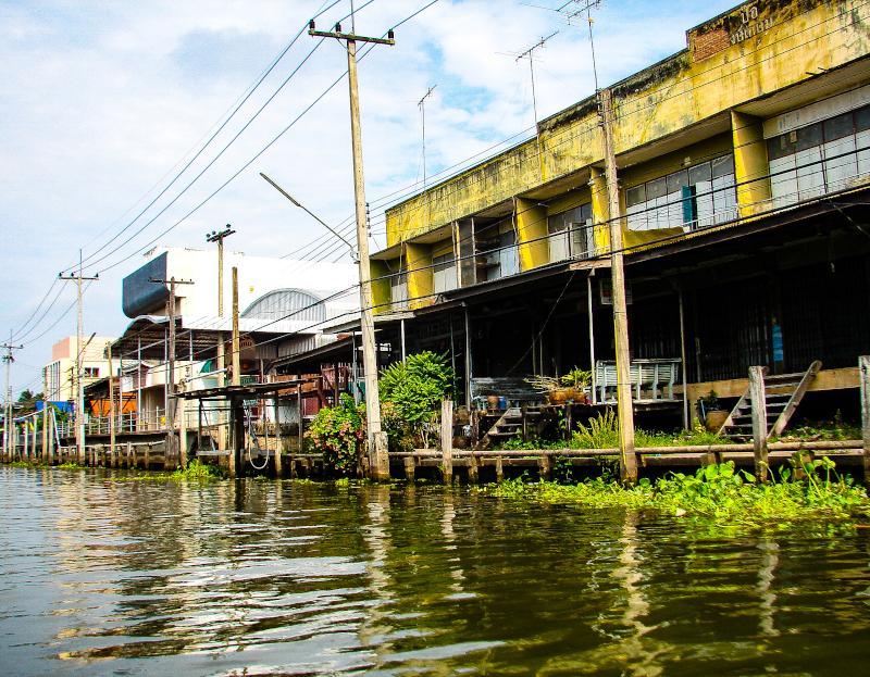 Giro per i canali di Bangkok