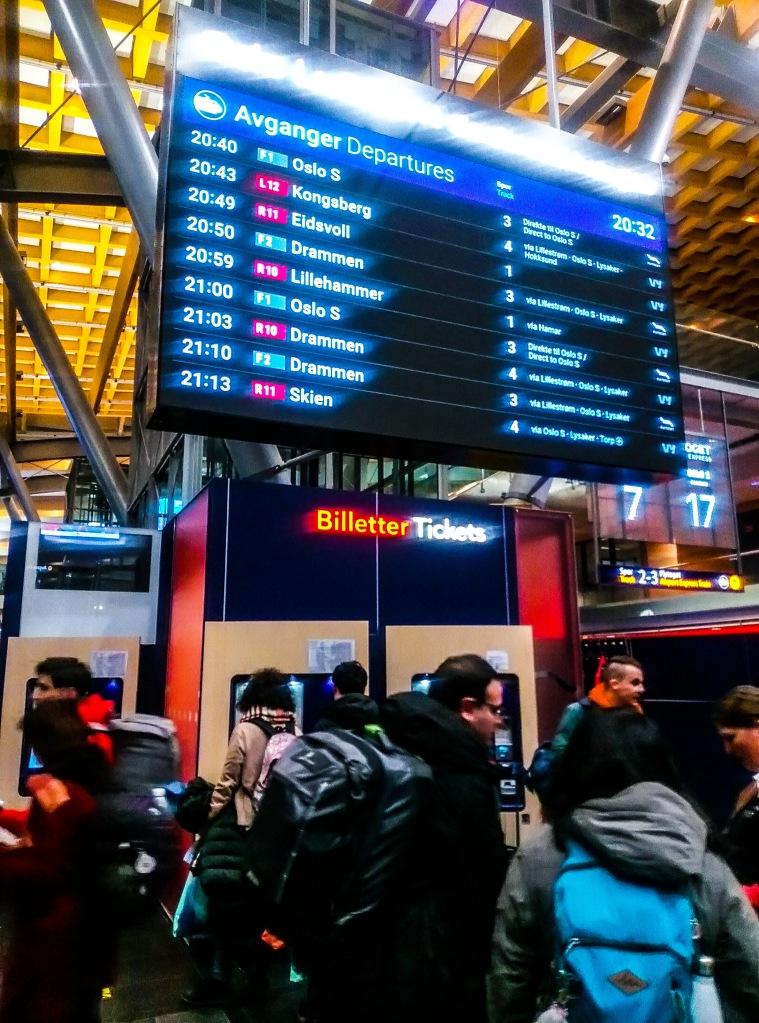 Biglietteria dei treni Vy (precedentemente NSB)