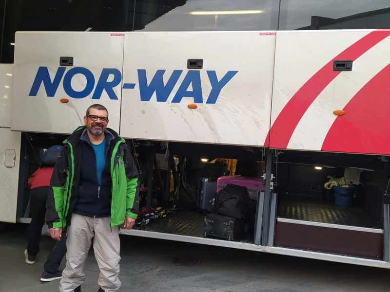 Da Oslo a Flåm in autobus