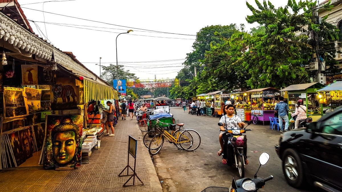 Siem Reap, cinque mercati per comprare souvenir