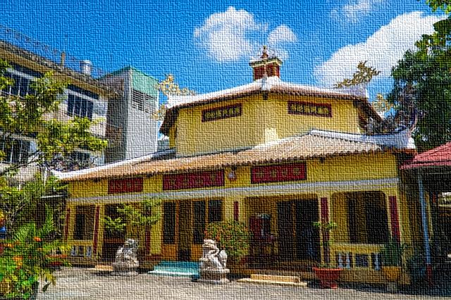 Vietnam, la pagoda Bù'u So'n