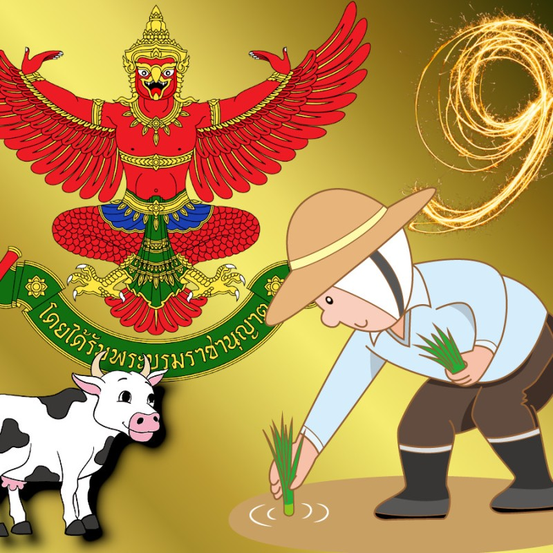 11 maggio Thailandia, Royal Ploughing Ceremony Day