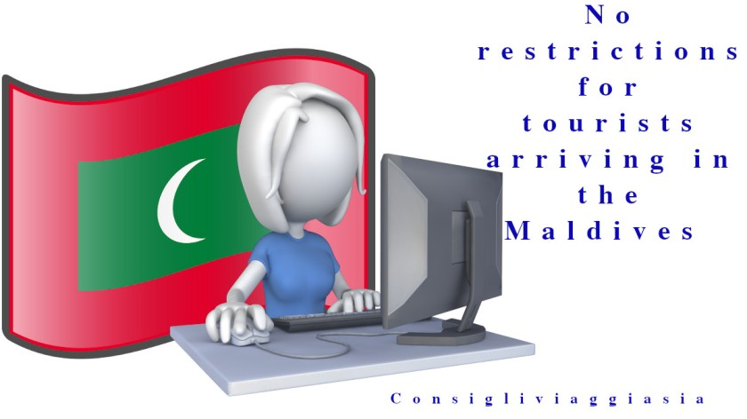 No restrictions for tourists arriving in the Maldives