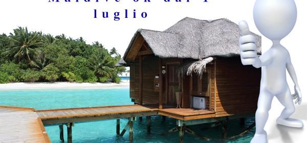 Le Maldive riapriranno il 1 luglio a tutte le nazioni