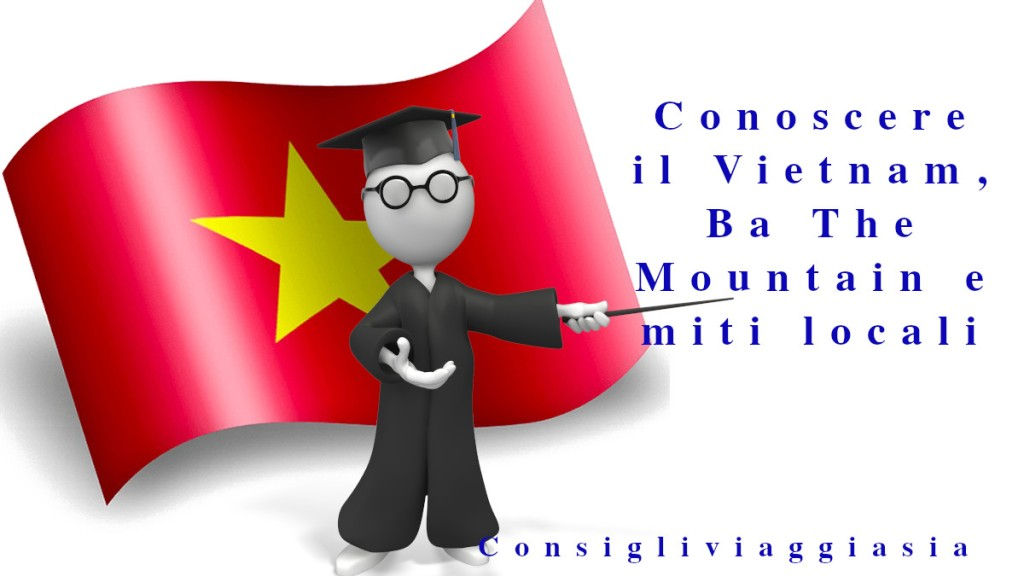 Vietnam, Ba The Mountain e miti locali