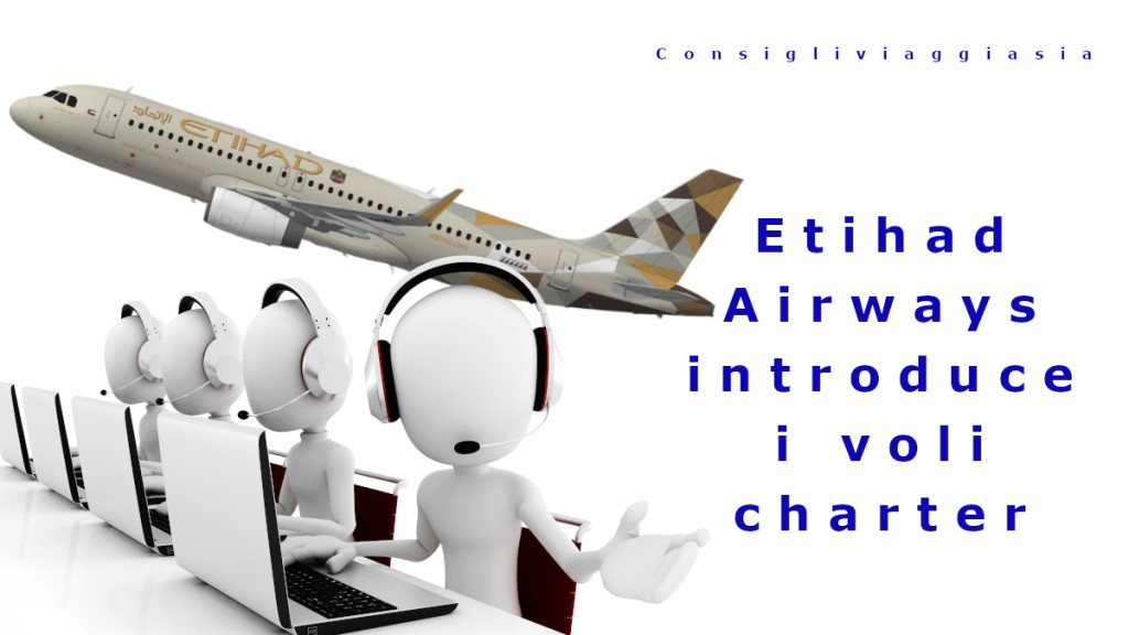 Etihad Airways introduce i voli charter